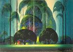 アイベン・アール「グリーン・フォレスト」版画 1989年