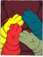 KAWS(カウズ)「URGE:#4 Maroon」版画 2020年 詳細