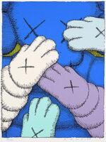 KAWS(カウズ)「URGE:#6 Light Blue」版画 2020年