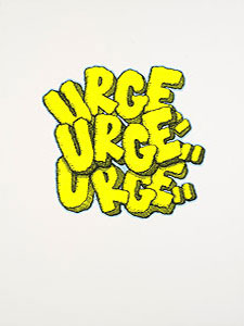 KAWS(カウズ)「URGE