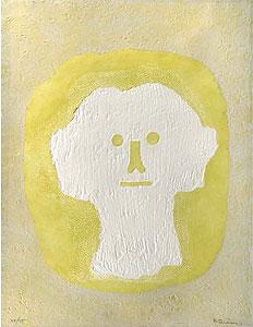 ルフィーノ・タマヨ「白い頭」銅版画 1976年