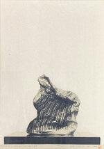 野田哲也「日記:1978年8月19日」版画 1978年