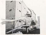 川俣正「Expand BankART PL.1-14 横浜・馬車道」写真にドローイング 2012年