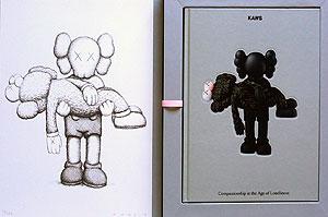 KAWS(カウズ)「Gone (Print + Book)」版画 2019年