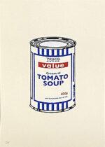 バンクシー(Banksy)「スープ缶:Soup Can」版画 2005年