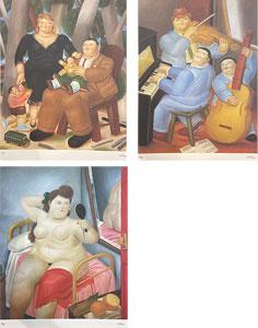 フェルナンド・ボテロ「Botero」版画3点入り画集 1983年