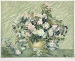 ゴッホ「薔薇(ジャック・ヴィヨン版)」銅版画 1928年