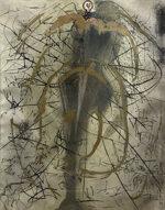 サルバドール・ダリ「錬金術の天使:哲学者の錬金術」版画 1976年