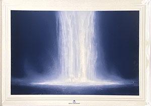 千住博「ウォーターフォール:ロイヤルコペンハーゲン」陶板画 2003年