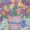 レスリー・セイヤー「ブルーリボンベイス」版画28.1×21.8cm