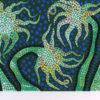草間彌生「夜の花(B)」シルクスクリーン28×65.9cm