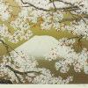 中島千波「桜花霞富士」版画47.3×60.6cm
