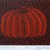 草間彌生「カボチャ(R)」版画15.6×22.5cm