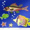 草間彌生「海」版画45×52.7cm